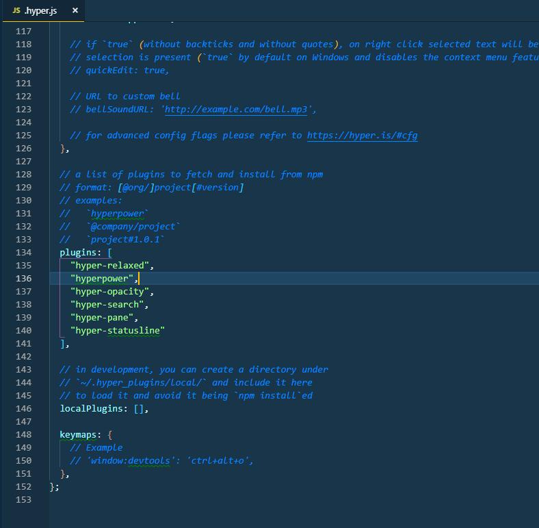 hyper js config